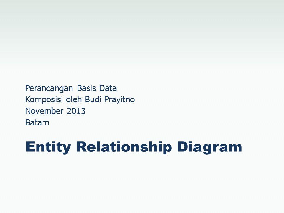 Entity Set E–R Diagram adalah model konseptual yang merepresentasikan objek di dunia nyata berdasarkan Entity dan Relationship.