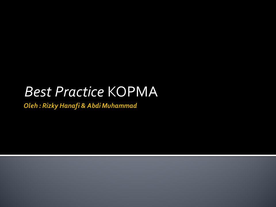Best Practice KOPMA