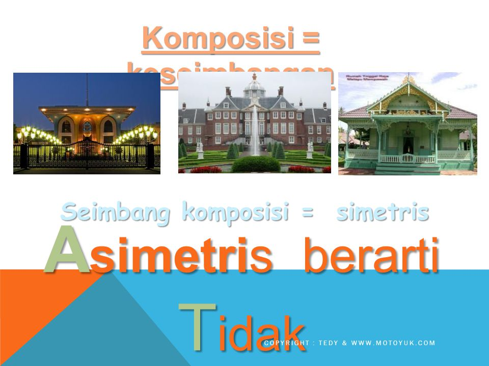 KOMPOSISI = KESEIMBANGAN....… Seimb ang ga....… COPYRIGHT : TEDY & WWW.MOTOYUK.COM
