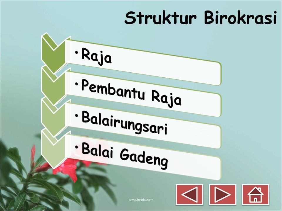 Struktur Birokrasi