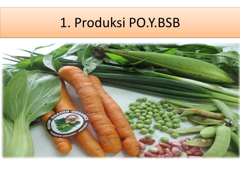 1.1.Cara Produksi 1. Penyuburan Tanah Memanfaatkan Biomassa Kebun 2.