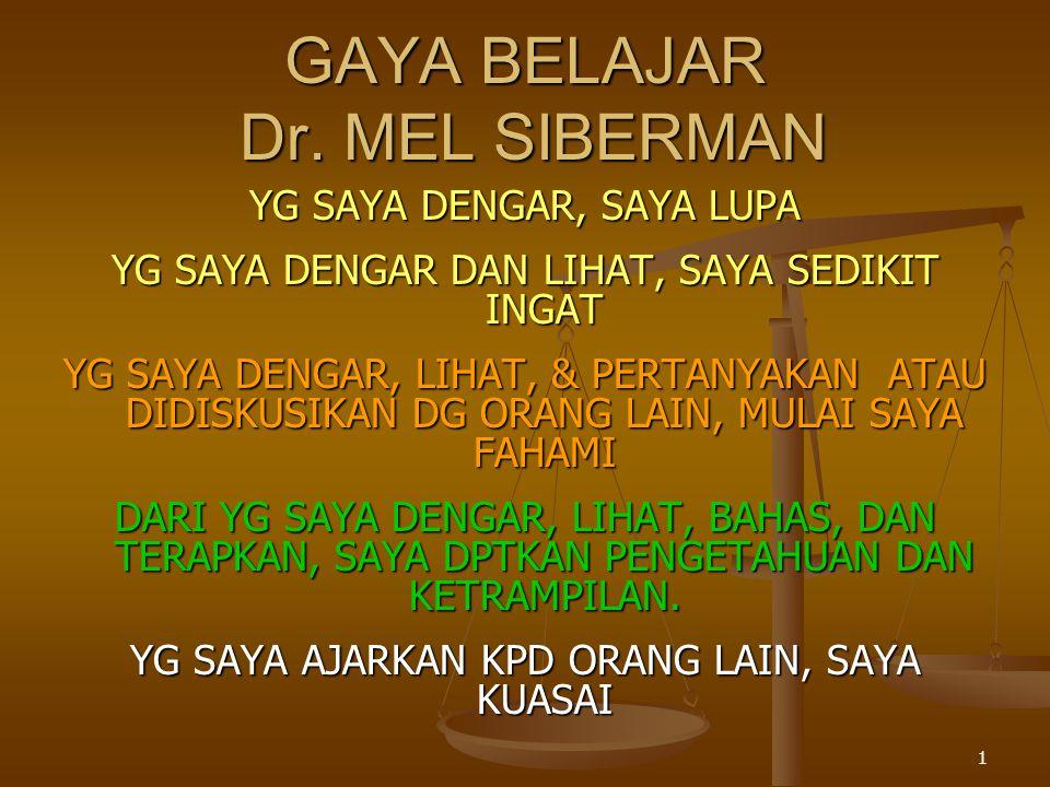 1 GAYA BELAJAR Dr.