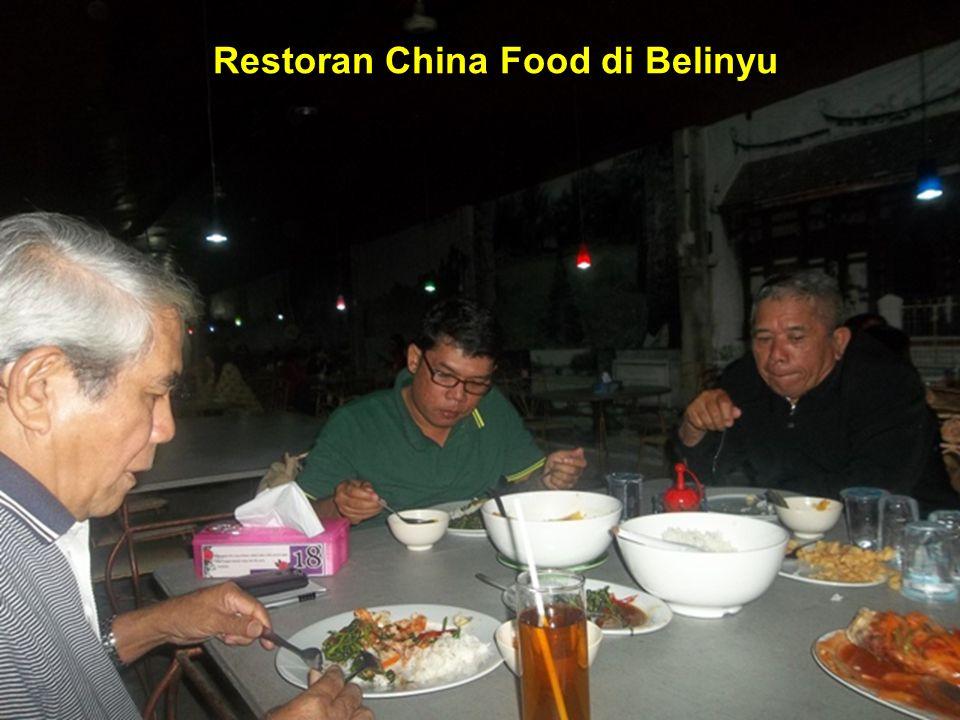 Restoran China Food di Belinyu