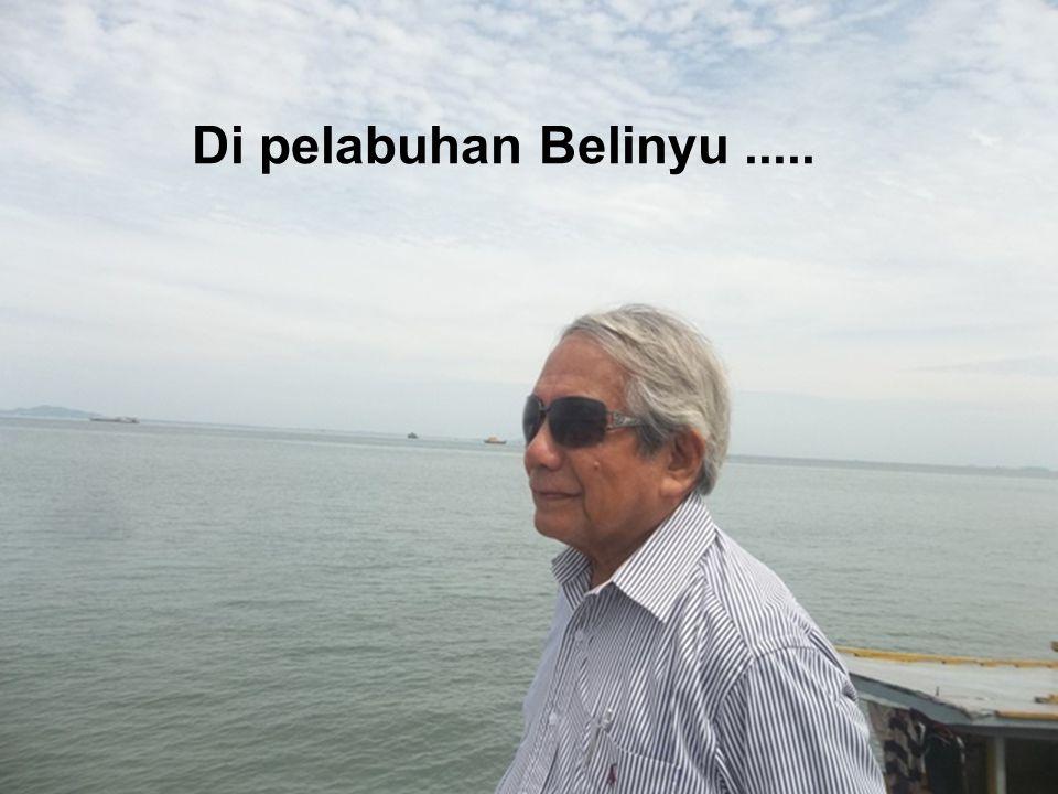 Di pelabuhan Belinyu.....