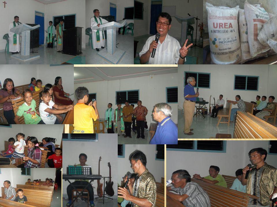 Minggu pagi, 15 September 2013 mengikuti Ibadah Hari Minggu di Gereja Immanuel Belinyu.