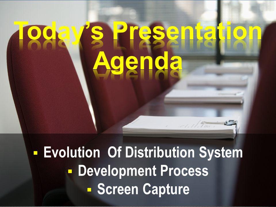  Evolution Of Distribution System  Development Process  Screen Capture