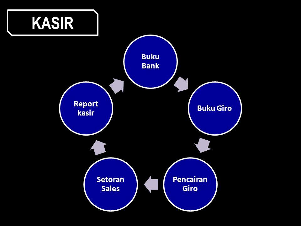 Buku Bank Buku Giro Pencaira n Giro Setoran Sales Report kasir KASIR