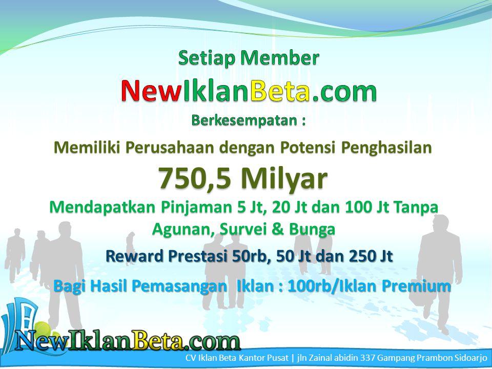CV Iklan Beta Kantor Pusat | jln Zainal abidin 337 Gampang Prambon Sidoarjo Pemilik & Pengelola CV Iklan Beta Moch.