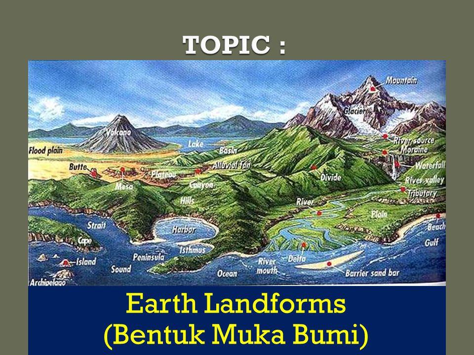 Earth Landforms (Bentuk Muka Bumi)
