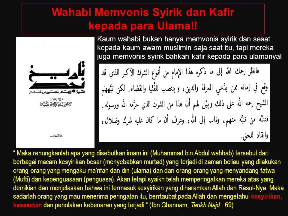 Menurut Wahabi: Imam Nawawi dan Ibnu Hajar Atsqalani Bukan Ahlussunnah Wal Jama'ah!.