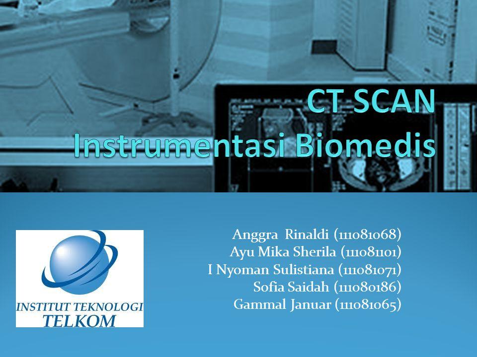 Apakah CT SCAN itu.