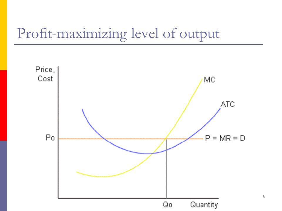 ika/unika7 Keuntungan ekonomi > 0 Economic profit