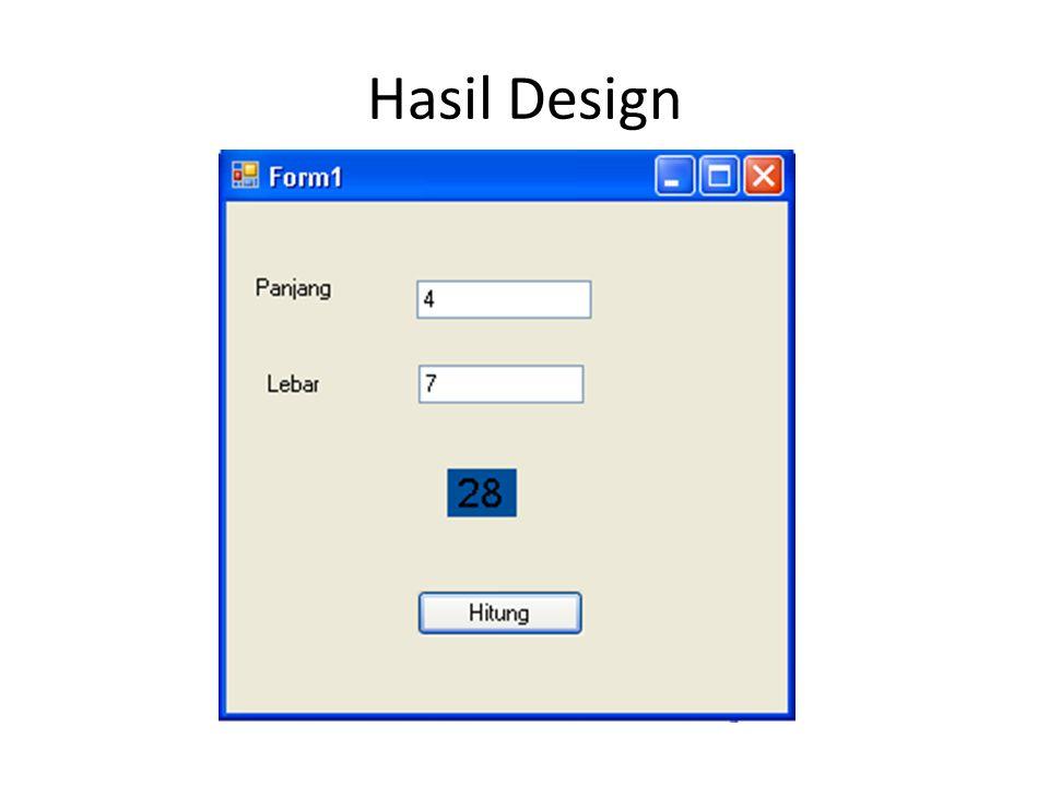 Hasil Design