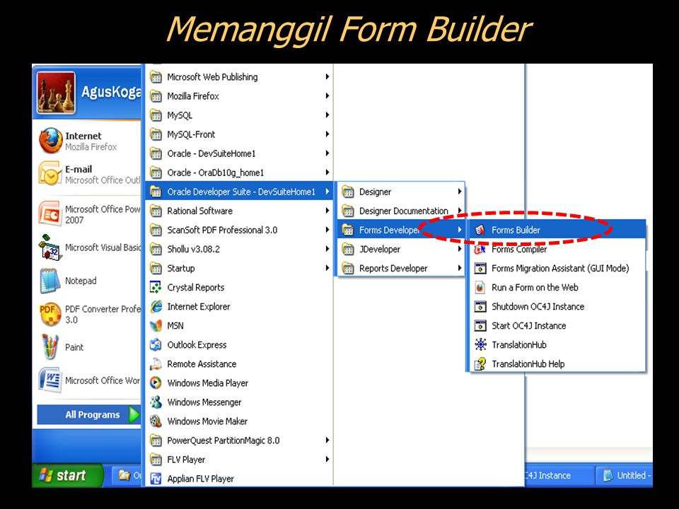 Langkah ke-5: Meng-Compile Block PL/SQL 1 2