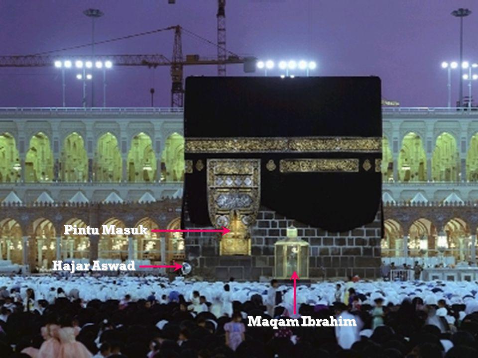 Maqam Ibrahim Hajar Aswad Pintu Masuk