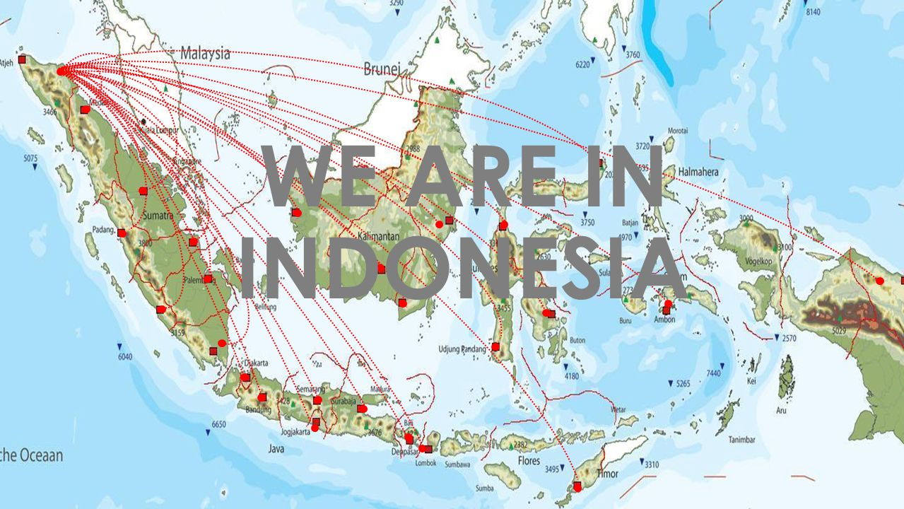WE ARE IN INDONESIA