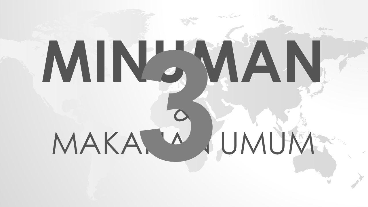 MINUMAN & MAKANAN UMUM 3