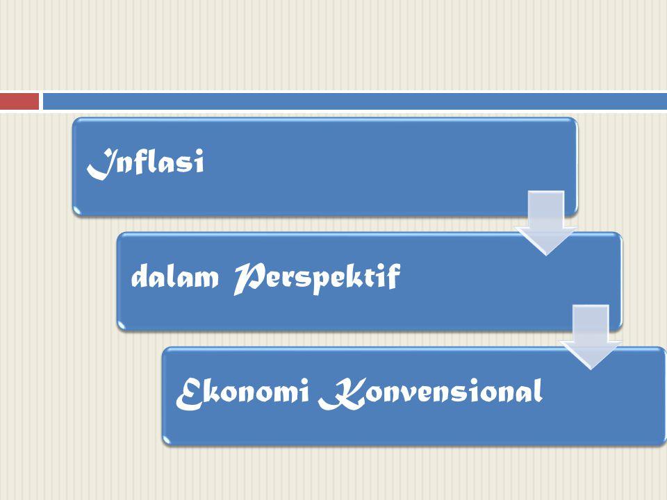 Inflasidalam PerspektifEkonomi Konvensional
