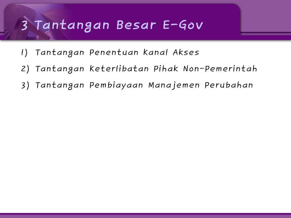 5.Apakah kita memilih E-Gov yang terbaik .