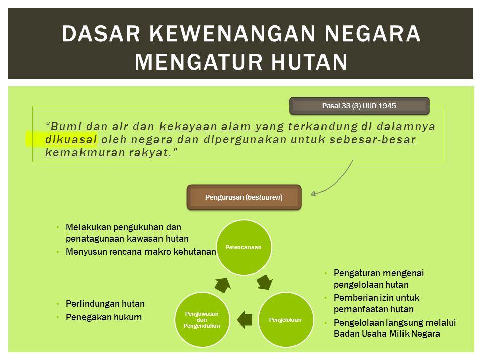  Mengembalikan hak milik/hak masyarakat hukum adat.