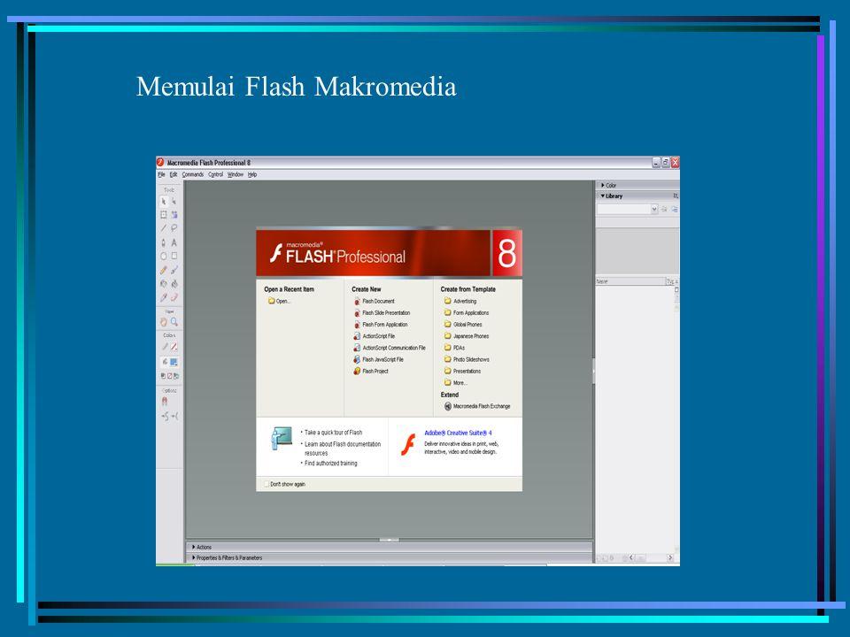 Memulai Flash Makromedia