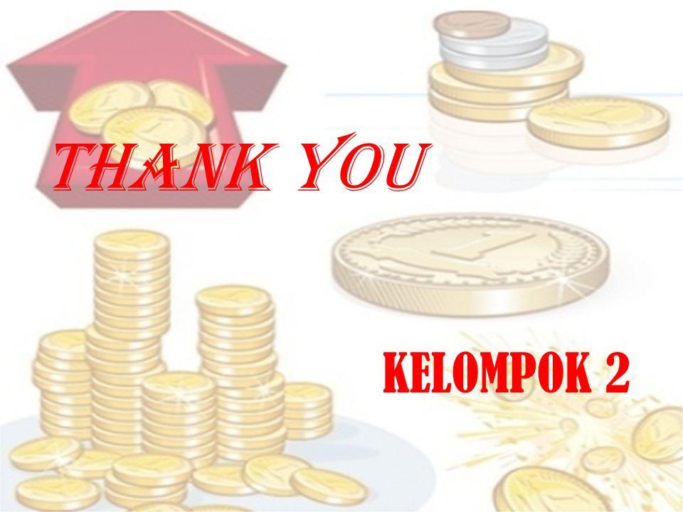 THANK YOU KELOMPOK 2