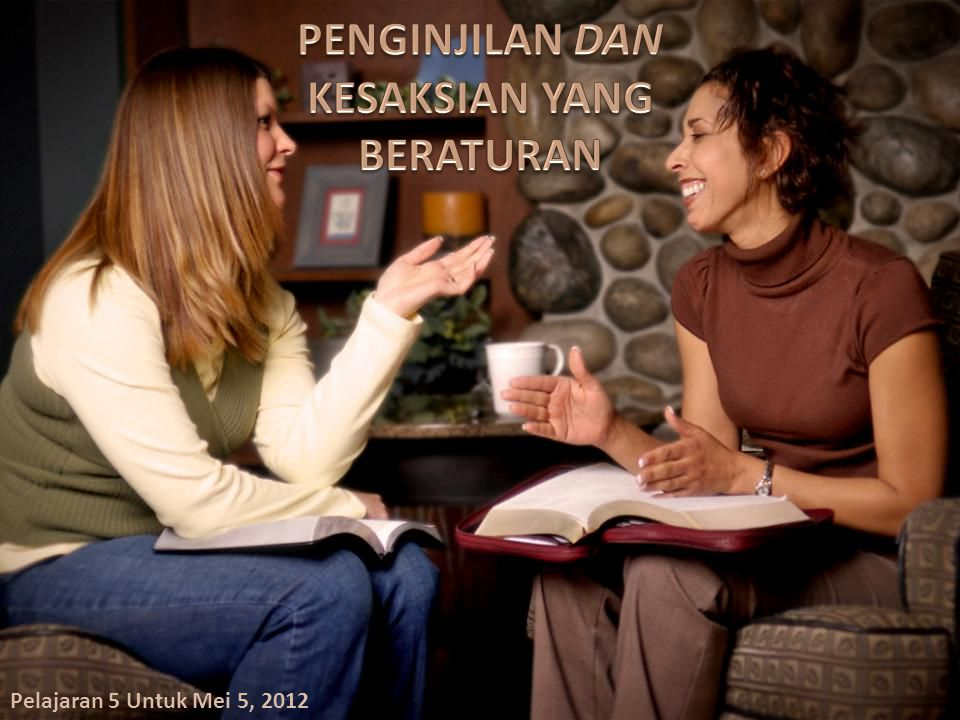 Pelajaran 5 Untuk Mei 5, 2012