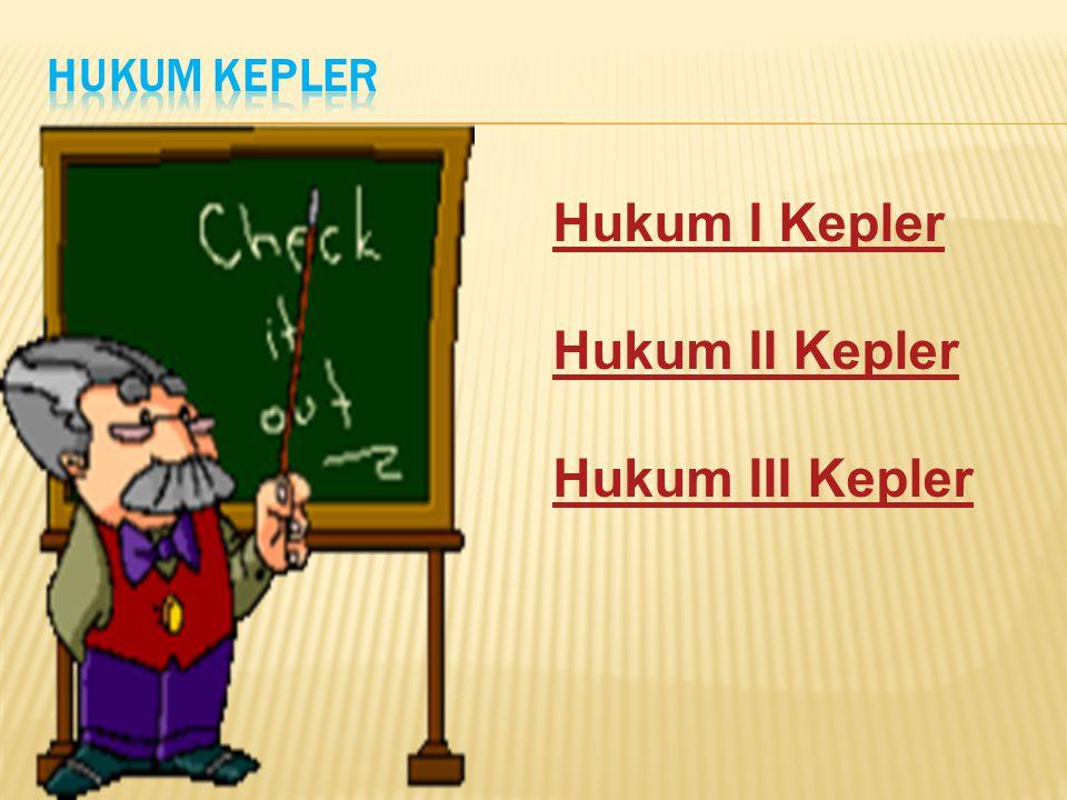 Setelah dilakukan proses pembelajaran, peserta didik dapat:  Menjelaskan perilaku planet-planet ketika mengorbit pusat tata surya dalam hukum Kepler dengan benar.