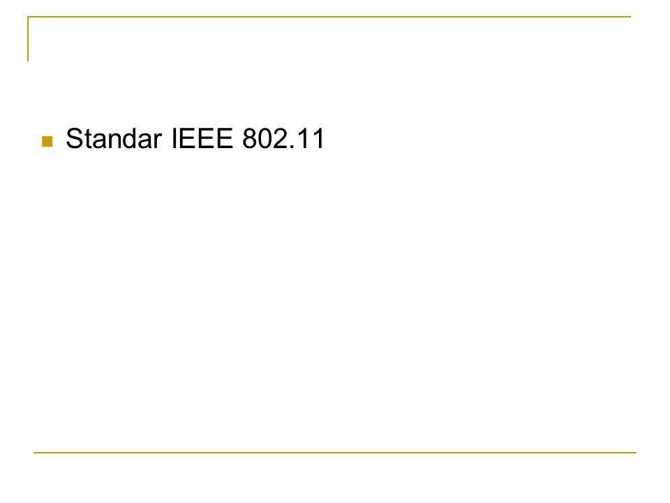  Standar IEEE 802.11