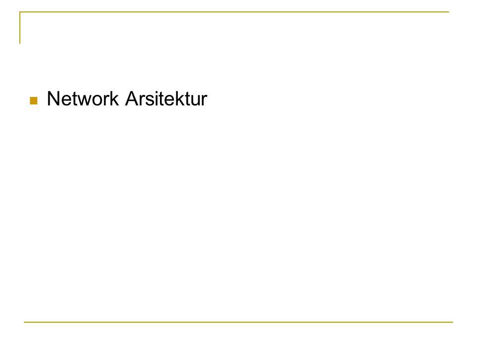  Network Arsitektur