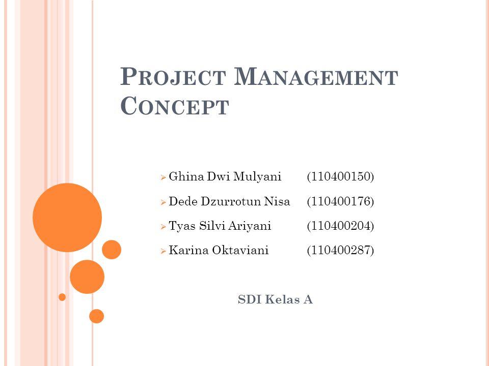 4P DALAM M ANAJEMEN P ROYEK 1.People :Unsur yang paling penting dari sebuah proyek yang sukses.