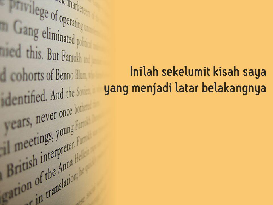 Pikiran Tidak sibuk karena memikirkan hutang atau hari esok b