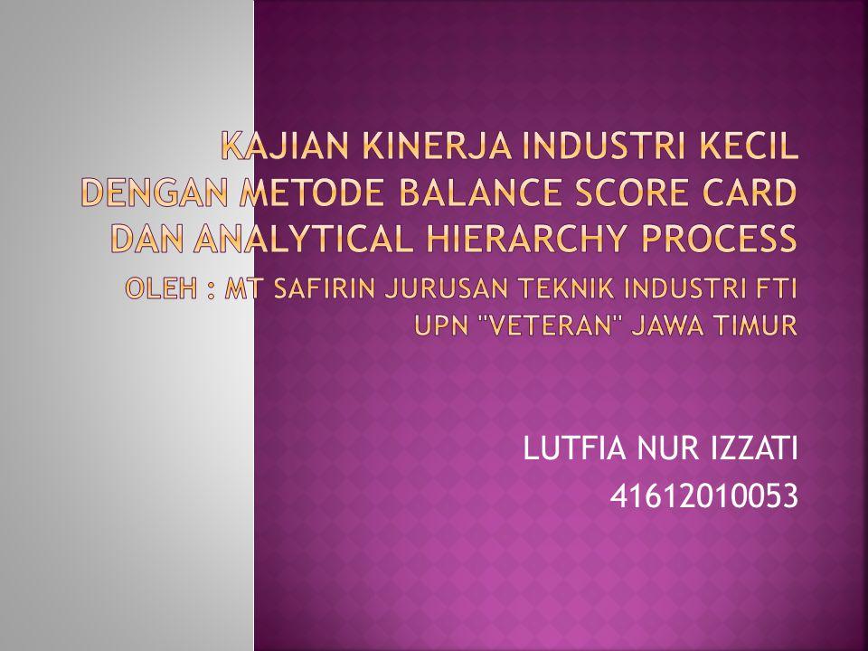 LUTFIA NUR IZZATI 41612010053