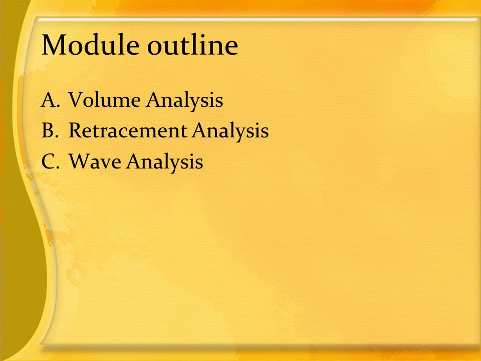 A. Volume Analysis