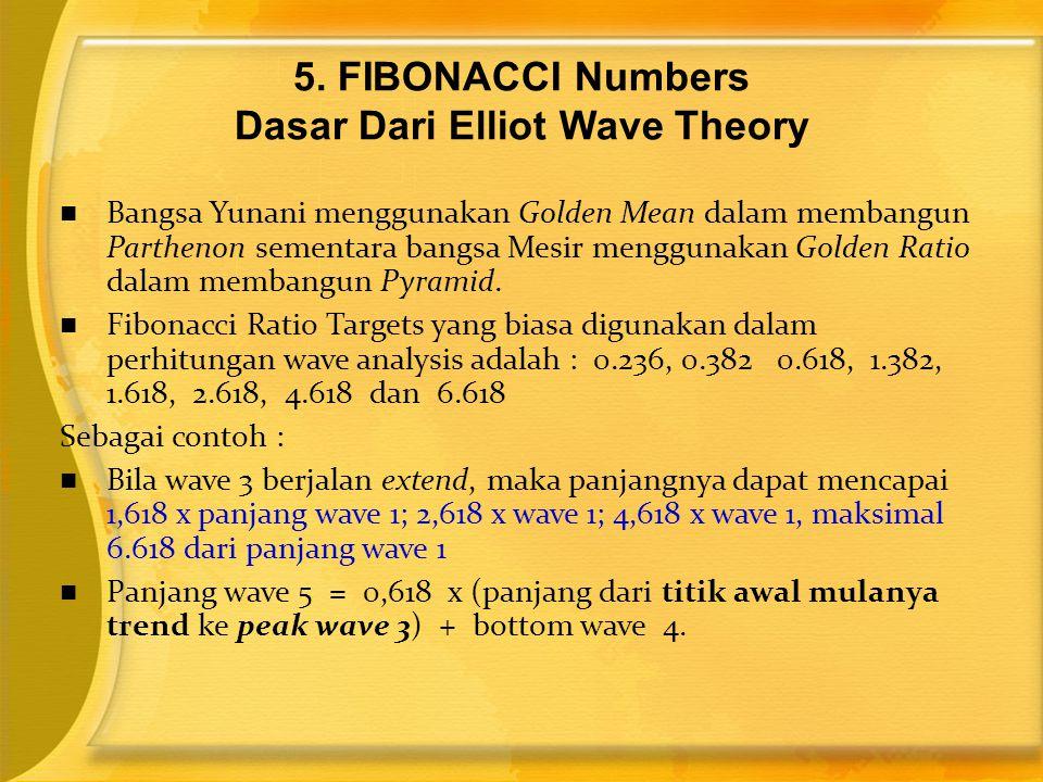  Bangsa Yunani menggunakan Golden Mean dalam membangun Parthenon sementara bangsa Mesir menggunakan Golden Ratio dalam membangun Pyramid.  Fibonacci