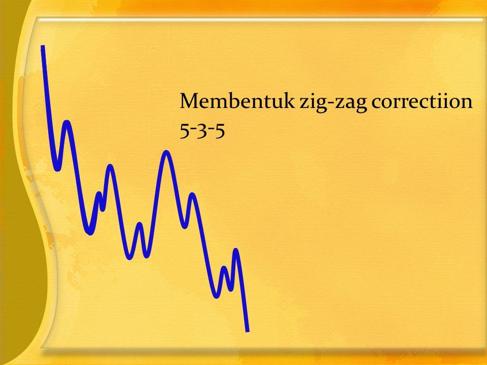 Membentuk zig-zag correctiion 5-3-5
