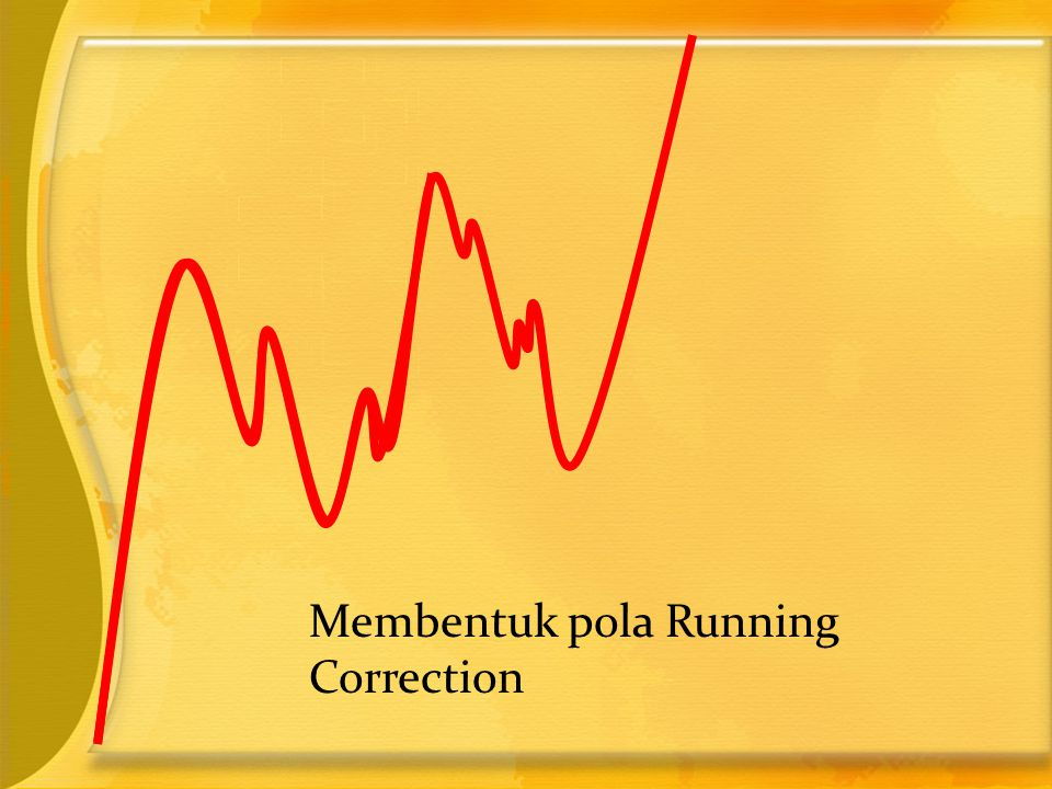 Membentuk pola Running Correction