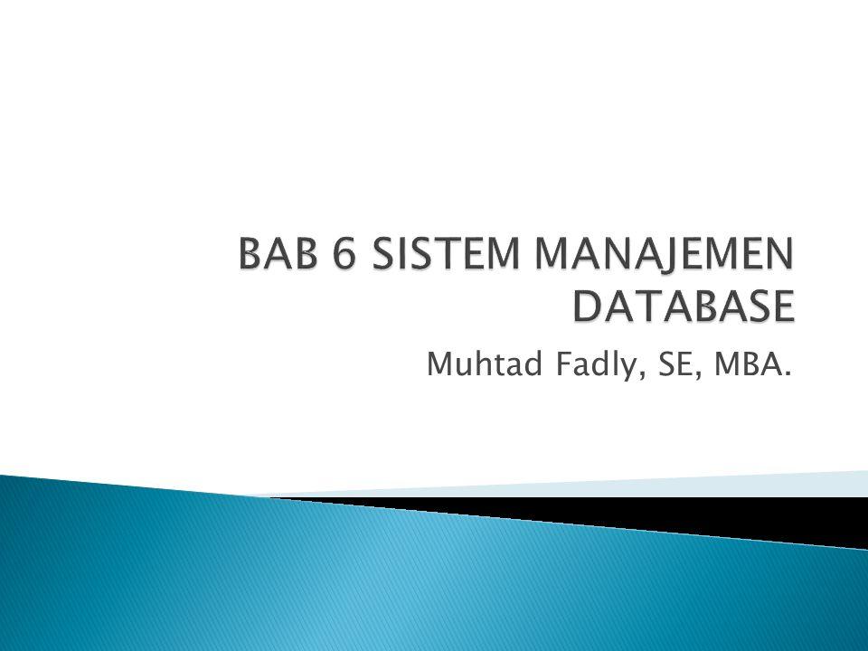 Muhtad Fadly, SE, MBA.