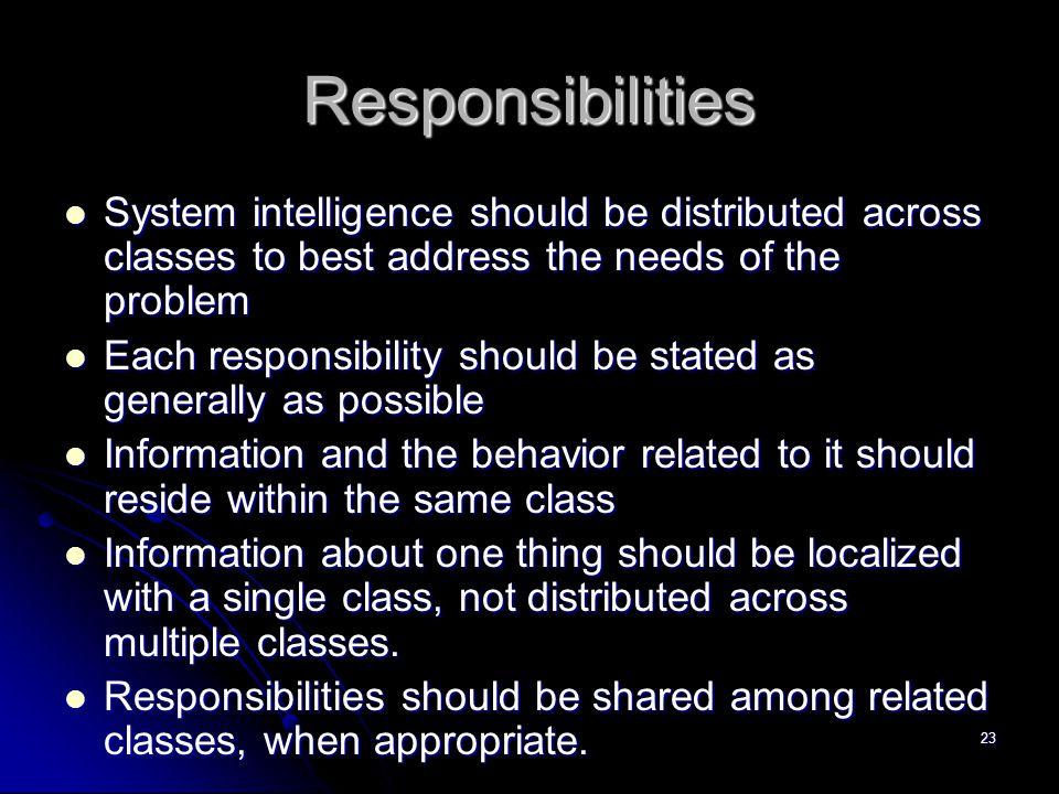 22 Tipe-tipe Class  Class entitas, sering disebut class model atau bisnis, yang diekstrak langsung dari statemen permasalahan (contoh : Sensor).  Cl