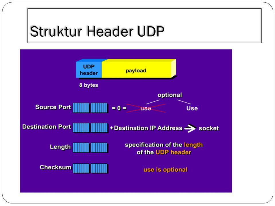 Struktur Header UDP