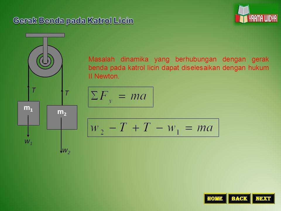 Untuk menyelesaikan permasalahan dinamika yang berhubungan dengan berat benda dalam lift dapat digunakan hukum I Newton (ketika lift diam atau bergerak lurus beraturan) dan hukum II Newton (ketika lift bergerak dengan percepatan tertentu).