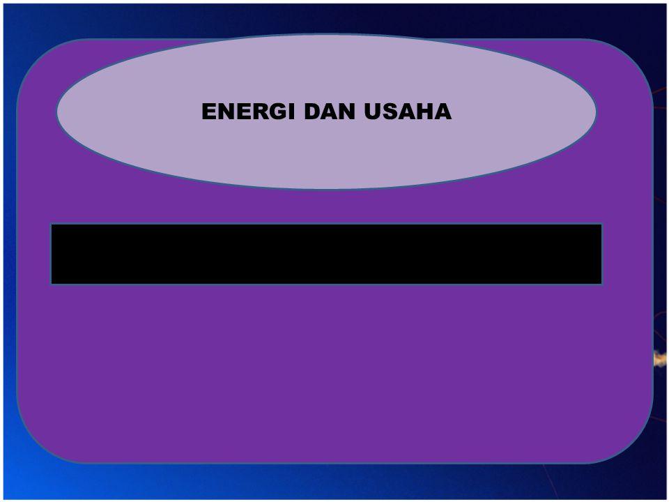 ENERGI DAN USAHA
