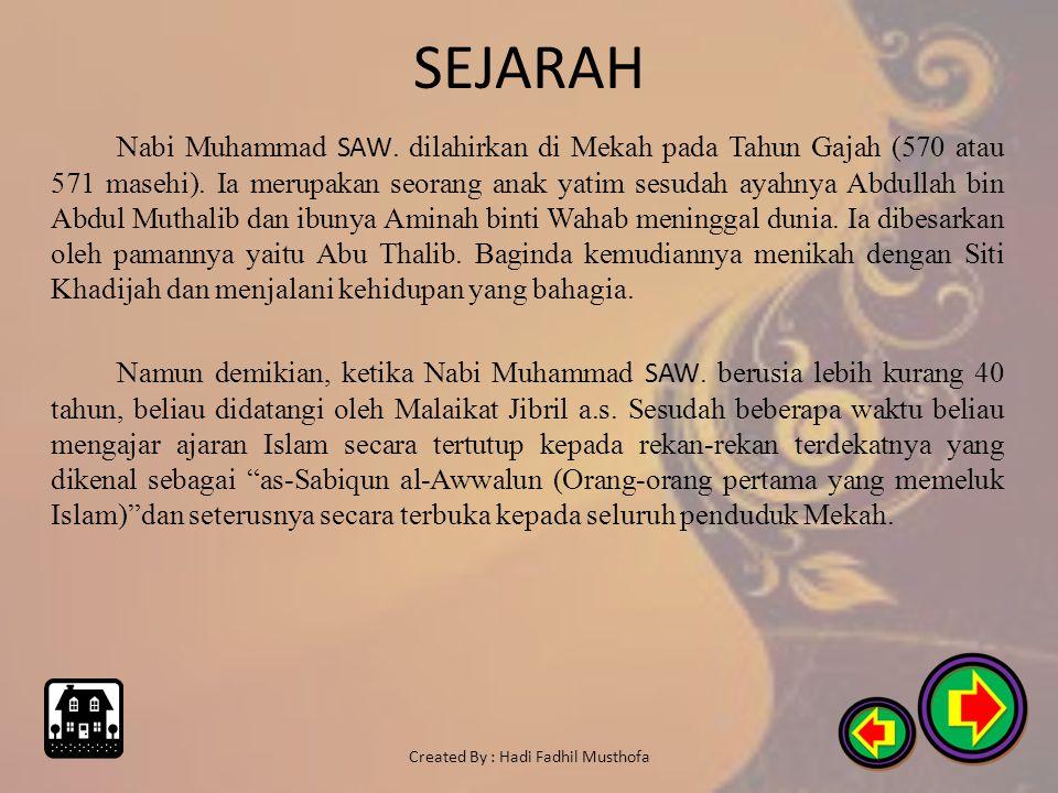 SEJARAH Pada abad ke-18 dan ke-19 masehi, banyak kawasan-kawasan Islam jatuh ke tangan penjajah Eropa. Setelah Perang Dunia I, Kerajaan Ottoman yaitu