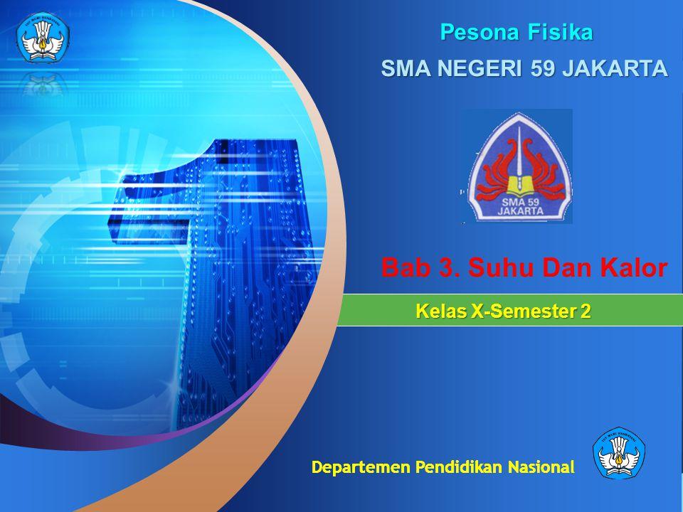 Departemen Pendidikan Nasional Kelas X-Semester 2 Pesona Fisika SMA NEGERI 59 JAKARTA