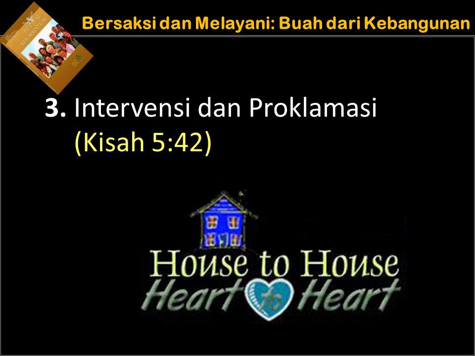 Understand the purposes of marriage Bersaksi dan Melayani: Buah dari Kebangunan 3. Intervensi dan Proklamasi (Kisah 5:42)