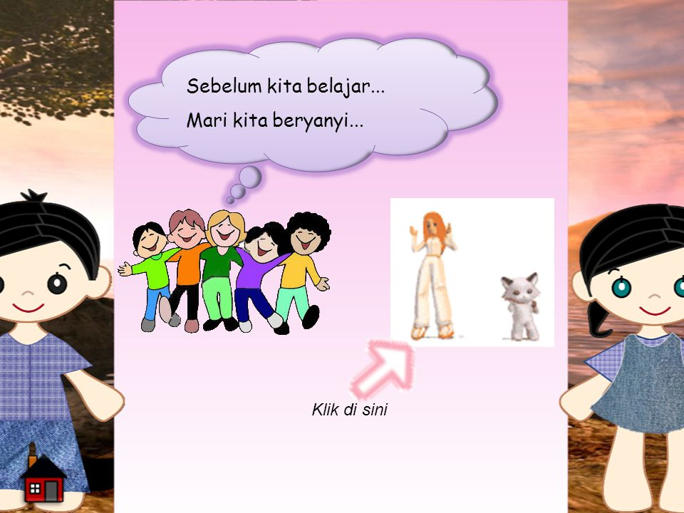 a.CerminCermin a.CerminCermin c.Air d. Pensil/bolpoin b.