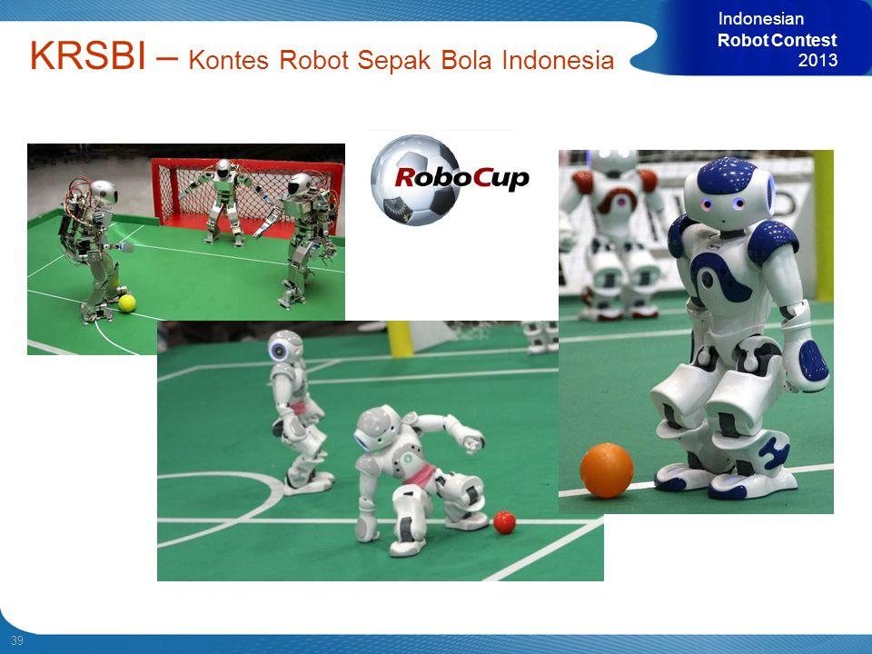 39 Indonesian Robot Contest 2013 KRSBI – Kontes Robot Sepak Bola Indonesia