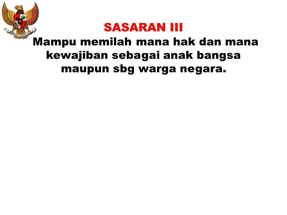 5. Keadilan sosial bagi seluruh rakyat Indonesia. (Bangsa yang menjunjung tinggi kebersamaan). -Tdk serakah -Tepat waktu -Mau bekerja keras -Saling me