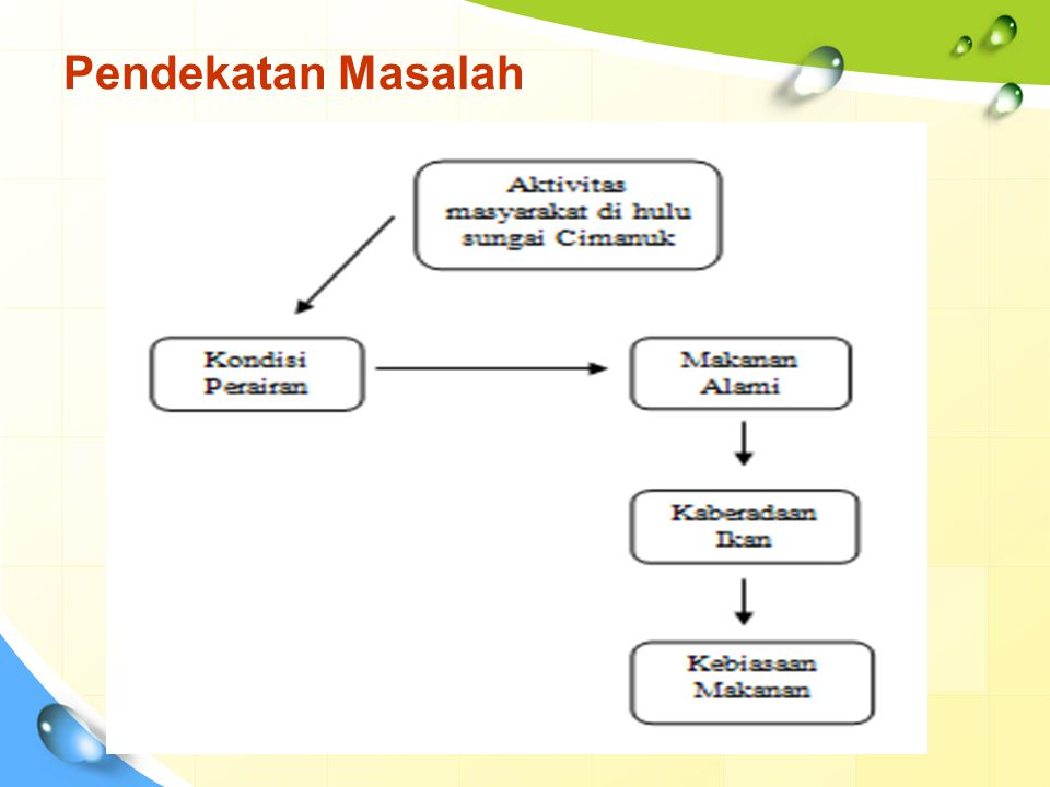 Luvi, 2000 Susilawati, 2001 ikan yang tertangkap di sungai Cimanuk Sumedang Jawa Barat sebanyak 23 jenis dari 7 famili dan ikan Lalawak (Barbodes balleroides) merupakan jenis yang dominan di sungai Cimanuk Sumedang dan tergolong jenis ikan omnivora ditemukan ikan sebanyak16 famili dan didominasi oleh ikan Genggehek (Mystacoleusus marginatus) yang merupakan jenis ikan detritivor.