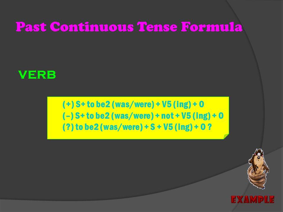 PAST CONTINUOUS TENSE Used For : Menyatakan kegiatan yang SEDANG BERLANGSUNG DI MASA LALU X Time Series : WWhen (ketika) WWhile (ketika)